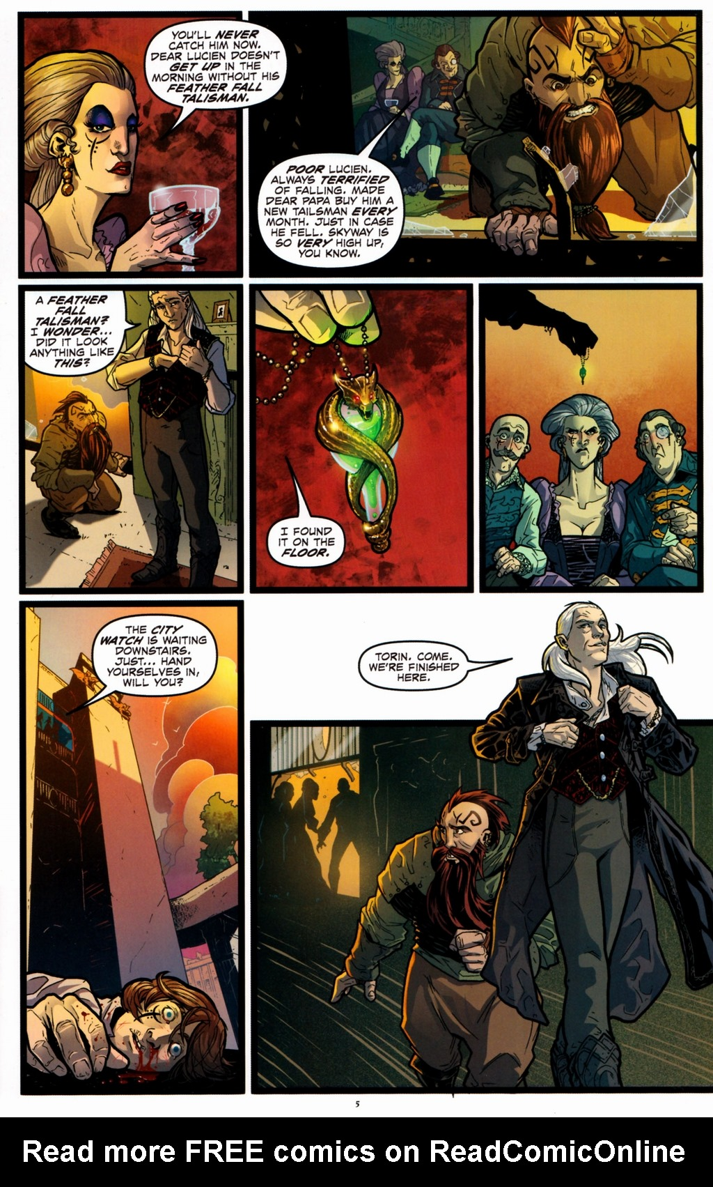 Read online Infestation 2: Dungeons & Dragons comic -  Issue #1 - 8