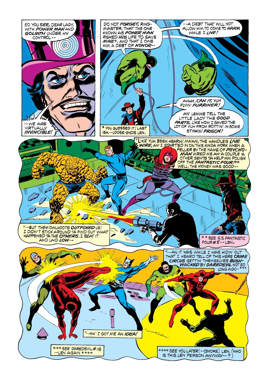 Read online Marvel Masterworks: Luke Cage, Power Man comic -  Issue # TPB 2 (Part 2) - 65