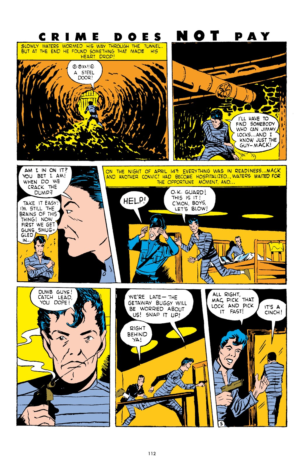 Read online Crime Does Not Pay Archives comic -  Issue # TPB 3 (Part 2) - 12