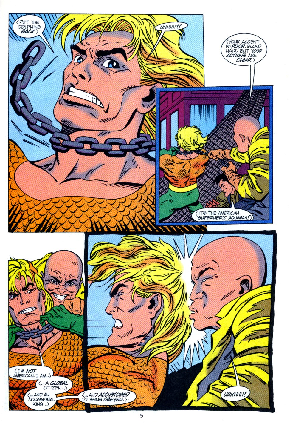 Read online Aquaman: Time and Tide comic -  Issue #2 - 6