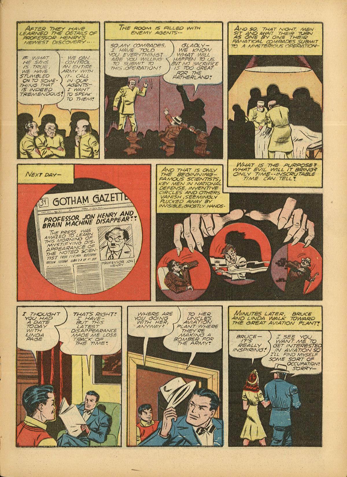 Read online Detective Comics (1937) comic -  Issue #55 - 5