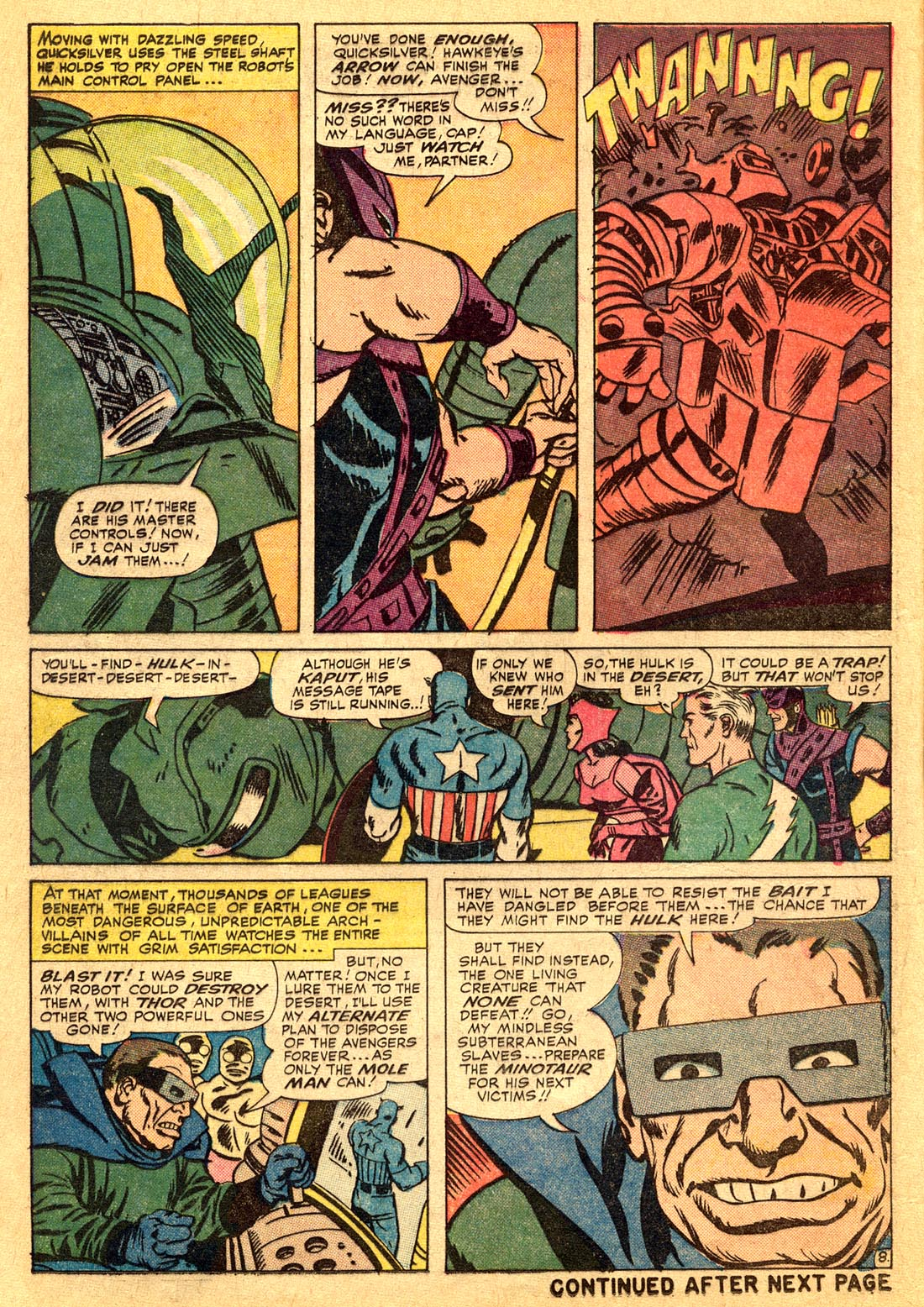 The Avengers (1963) 17 Page 8