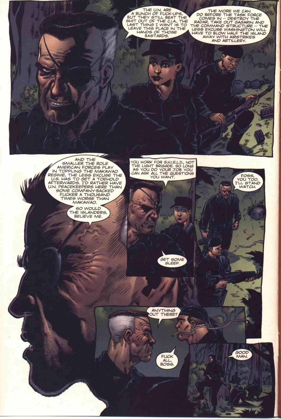 Read online Fury comic -  Issue #4 - 5