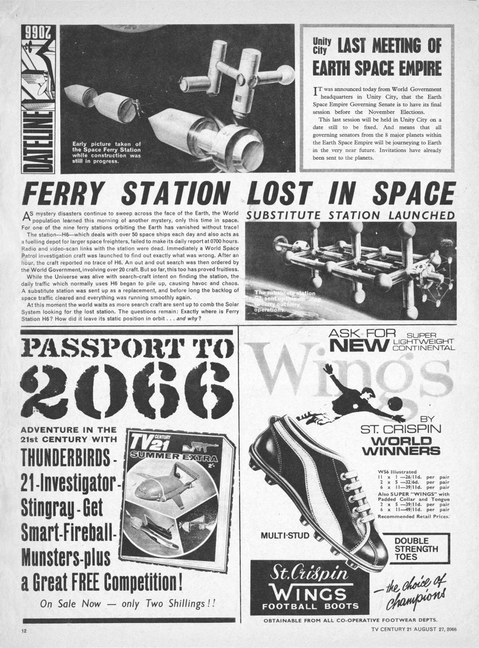 Read online TV Century 21 (TV 21) comic -  Issue #84 - 11
