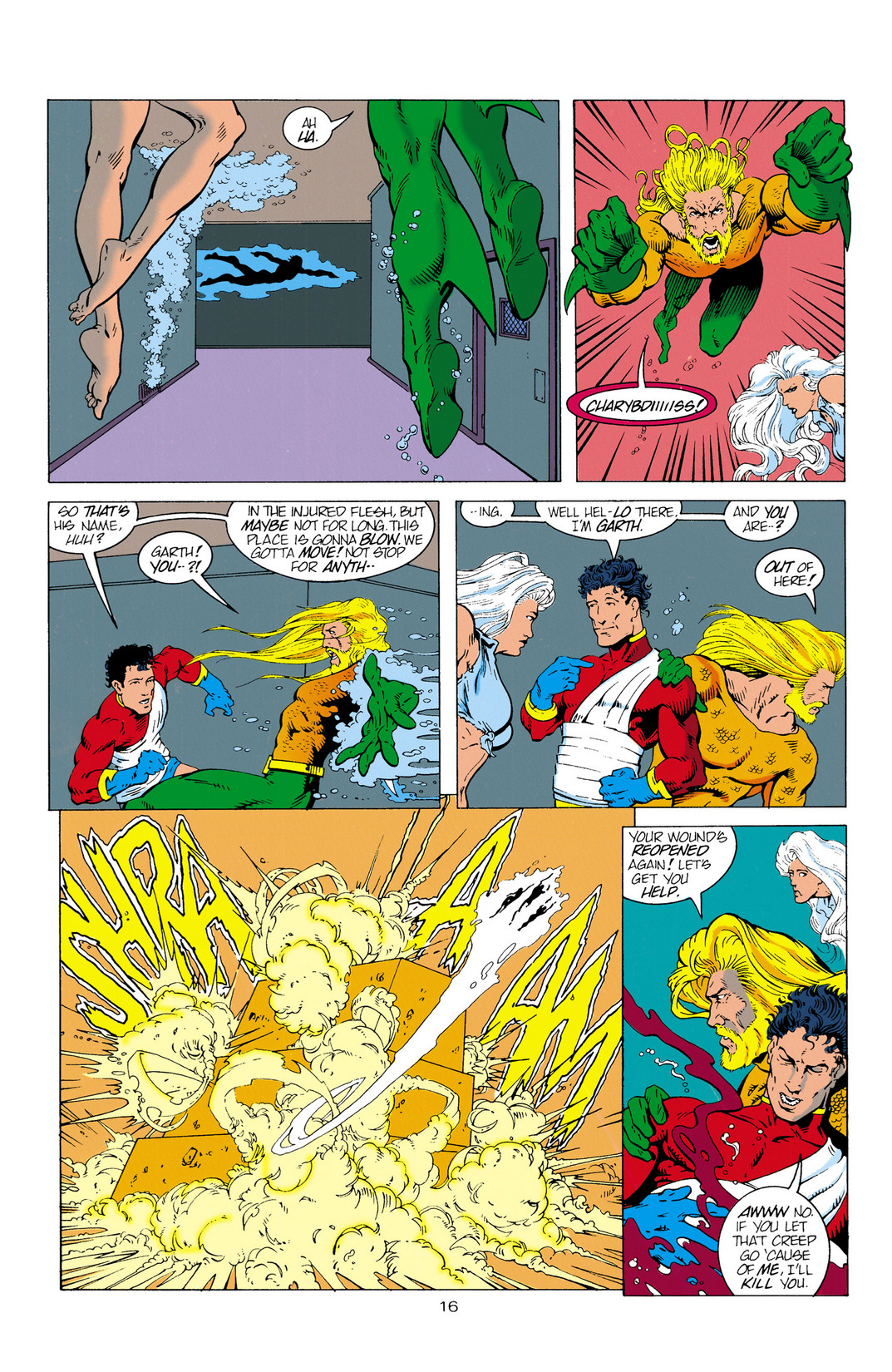 Read online Aquaman (1994) comic -  Issue #2 - 17