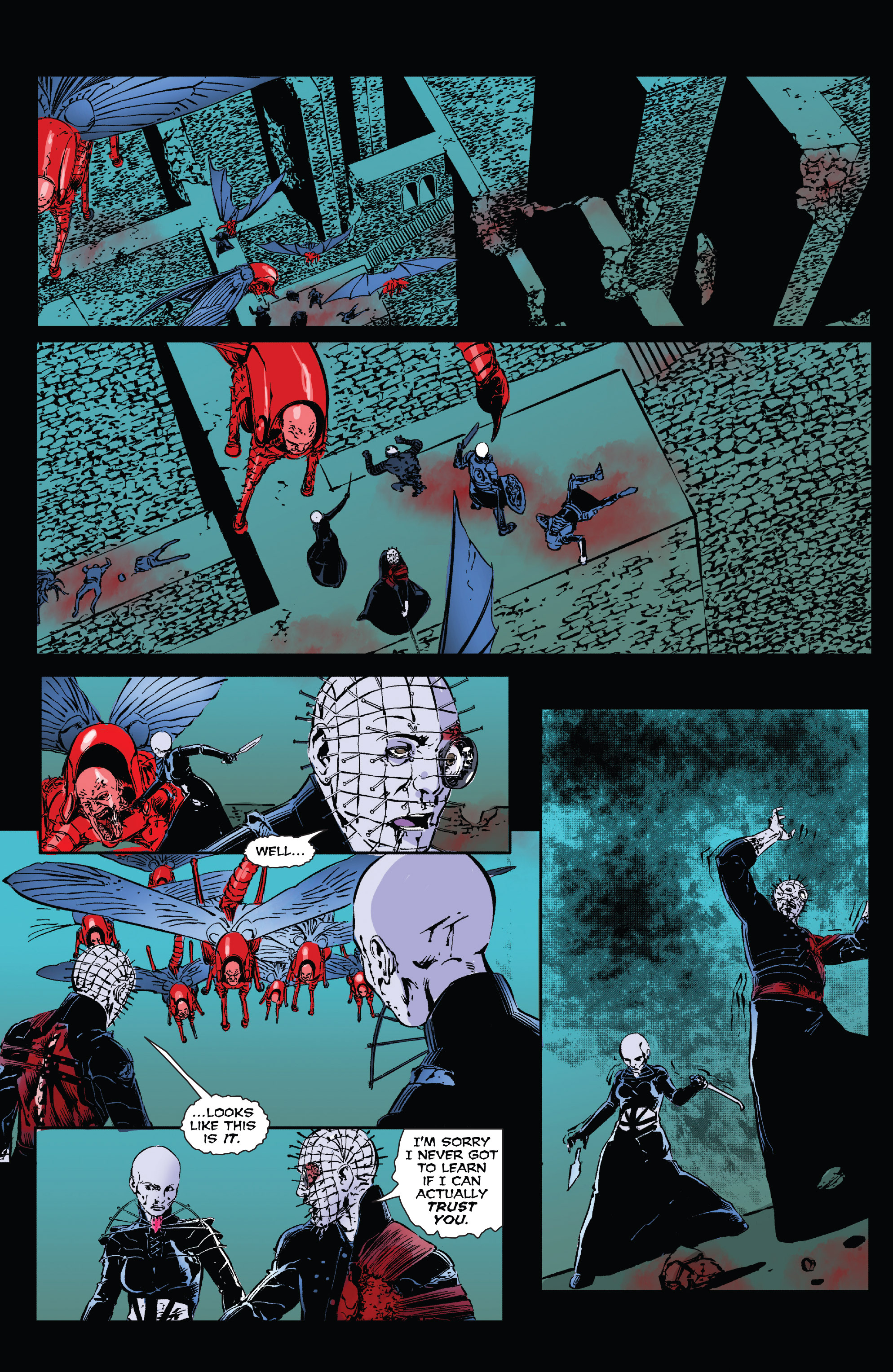Read online Clive Barker's Hellraiser: The Dark Watch comic -  Issue # TPB 3 - 122