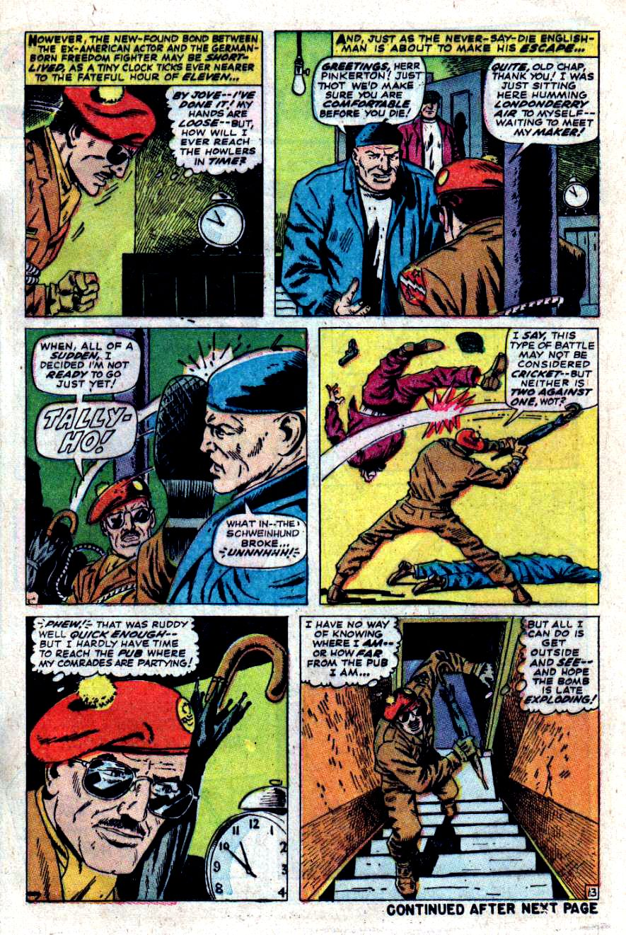 Read online Sgt. Fury comic -  Issue #47 - 17