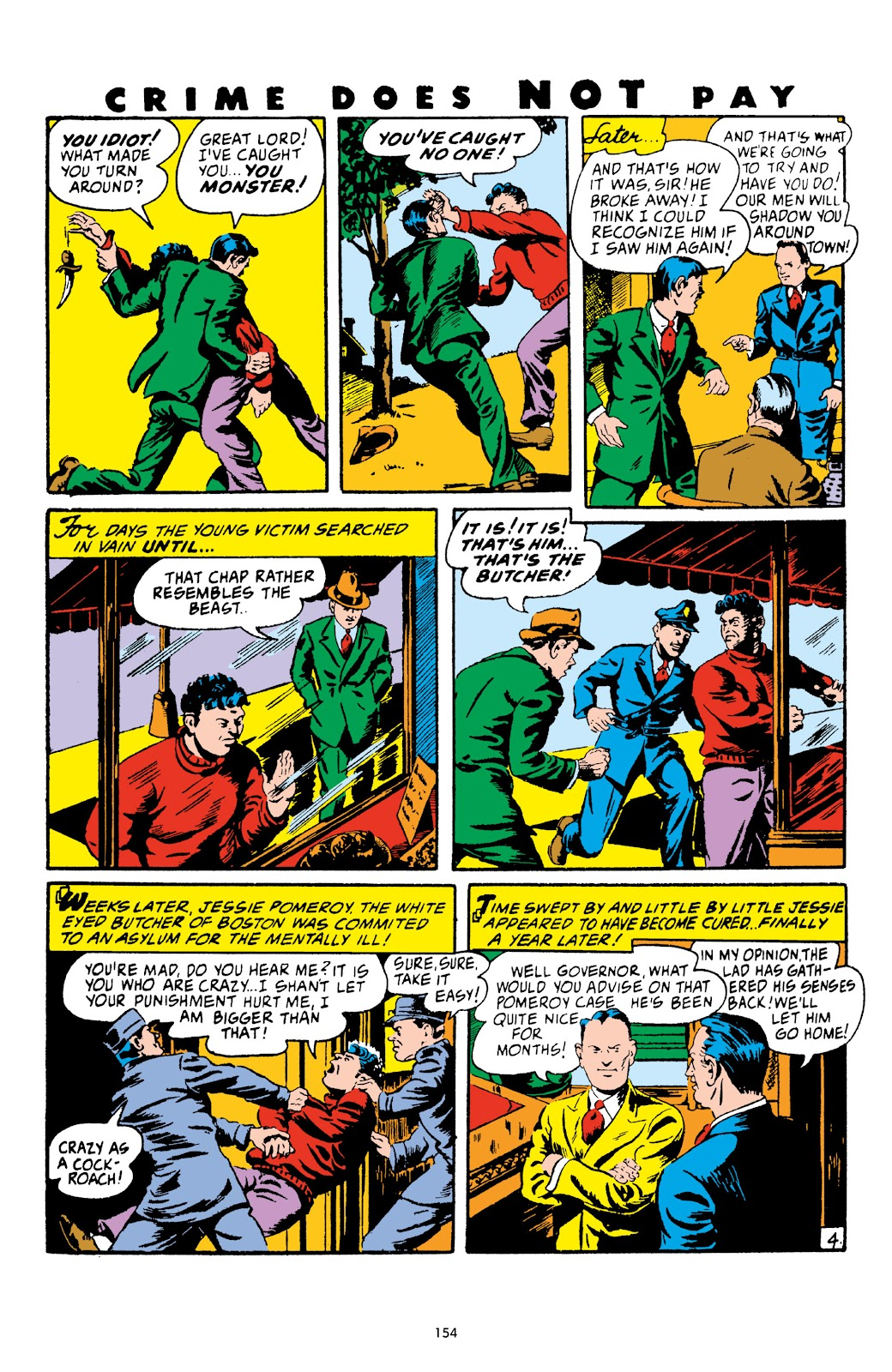 Read online Crime Does Not Pay Archives comic -  Issue # TPB 4 (Part 2) - 54