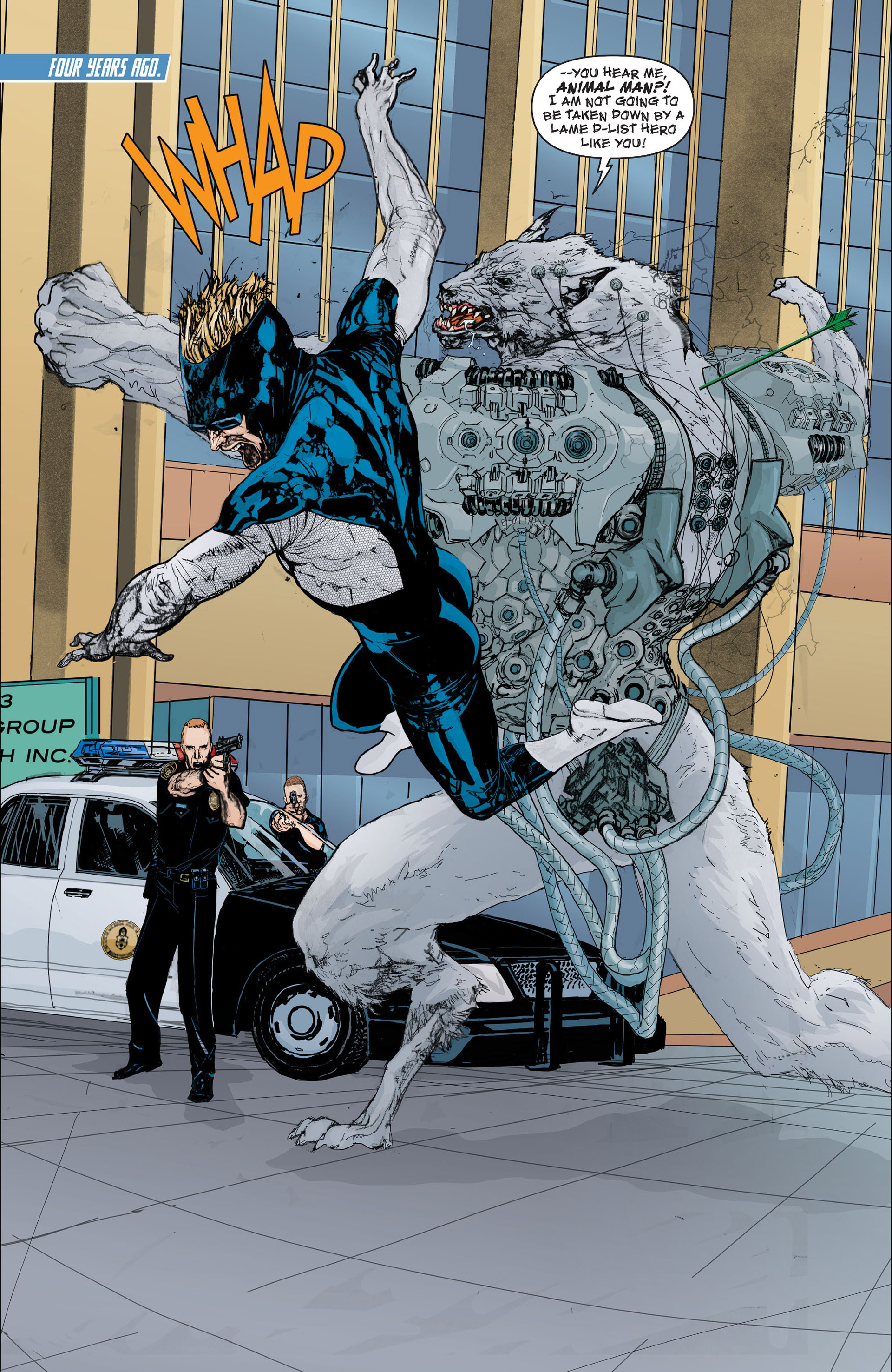 Read online Animal Man (2011) comic -  Issue #Animal Man (2011) _Annual 2 - 5