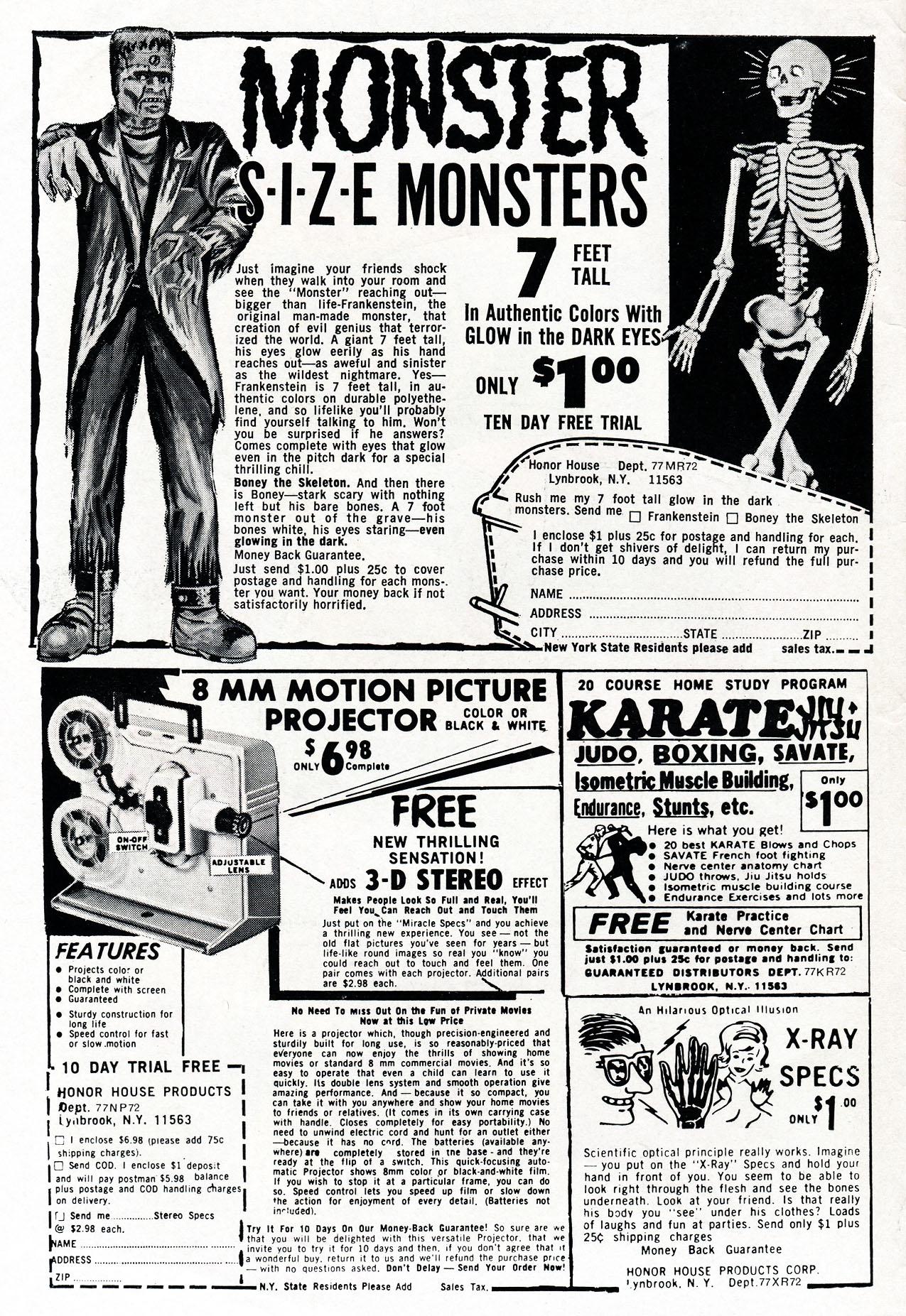 Read online Amazing Adventures (1970) comic -  Issue #4 - 2