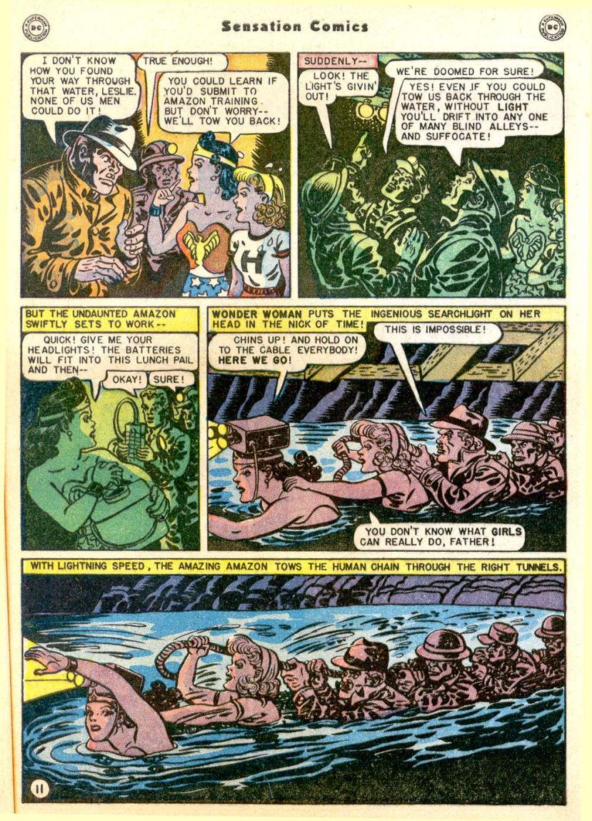 Read online Sensation (Mystery) Comics comic -  Issue #85 - 12