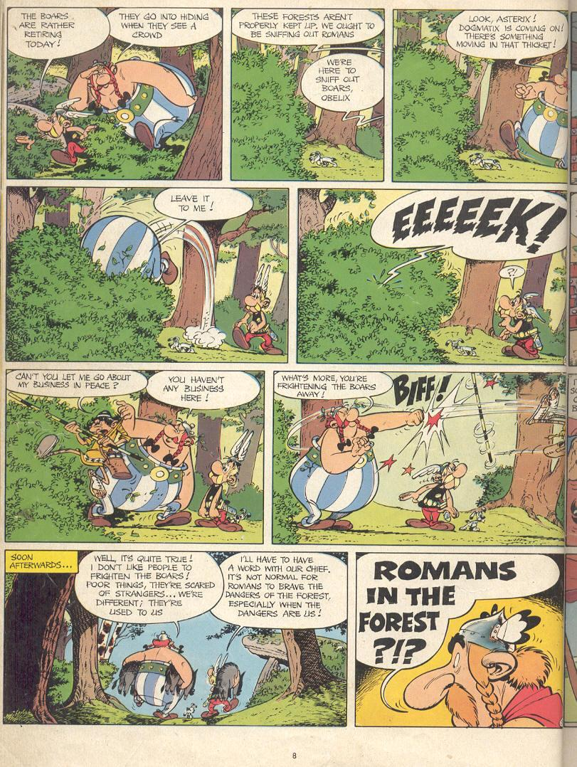 Read online Asterix comic -  Issue #17 - 6