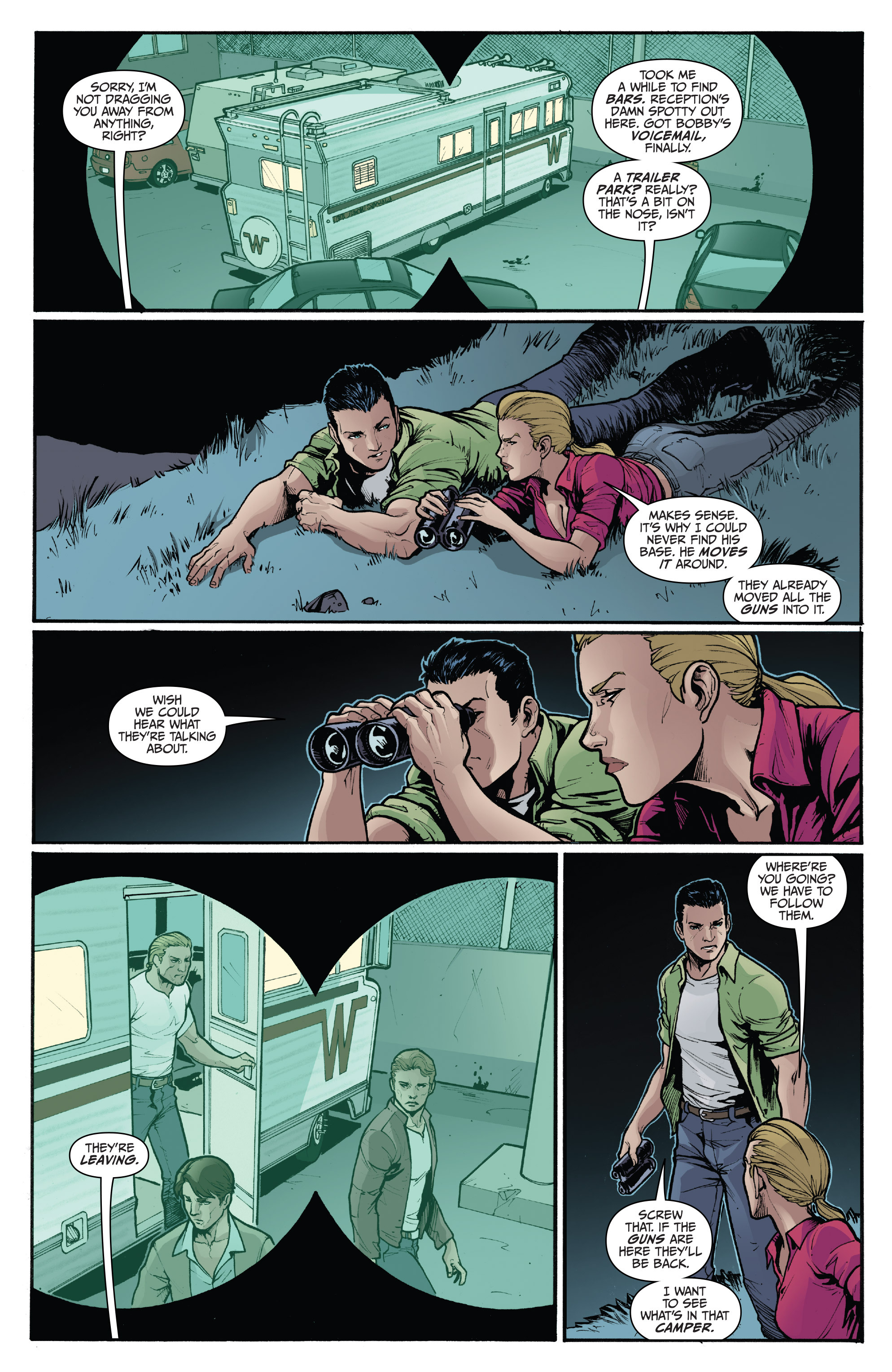 Read online 3 Guns comic -  Issue #5 - 21