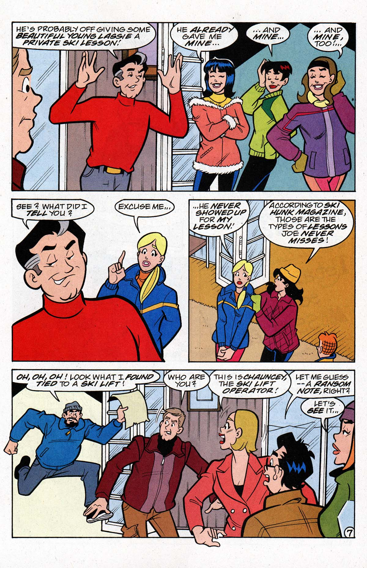 Read online Archie's Weird Mysteries comic -  Issue #26 - 10