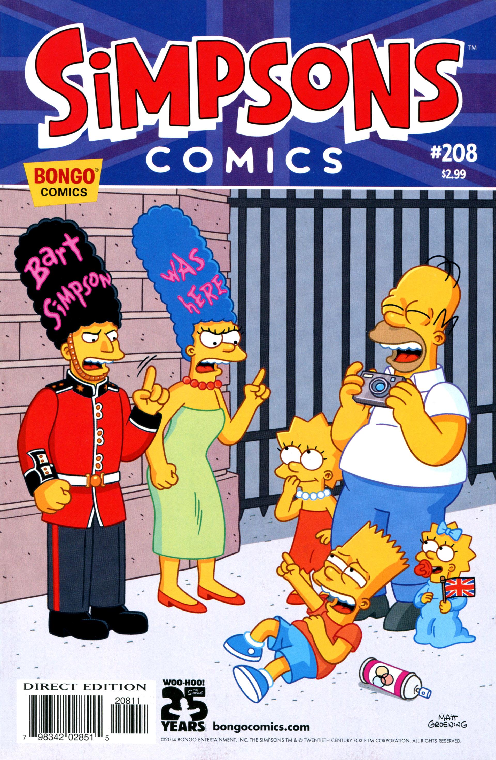 Simpsons Comics 208 Page 1