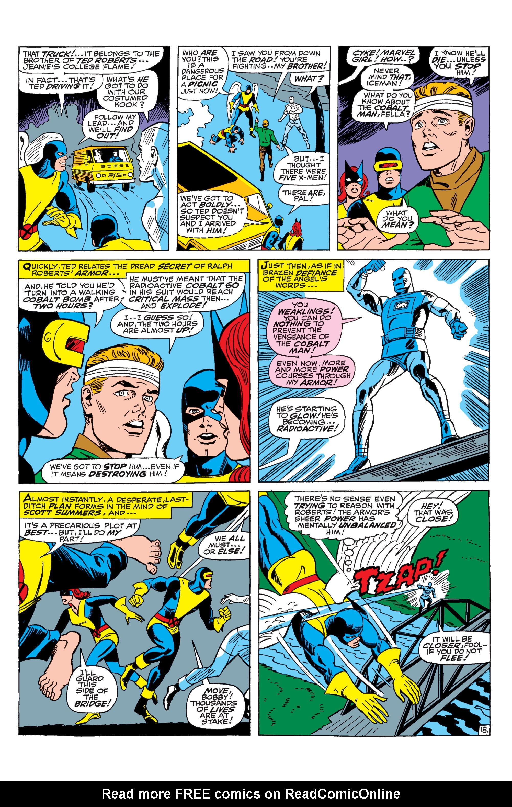 Read online Uncanny X-Men (1963) comic -  Issue #31 - 19