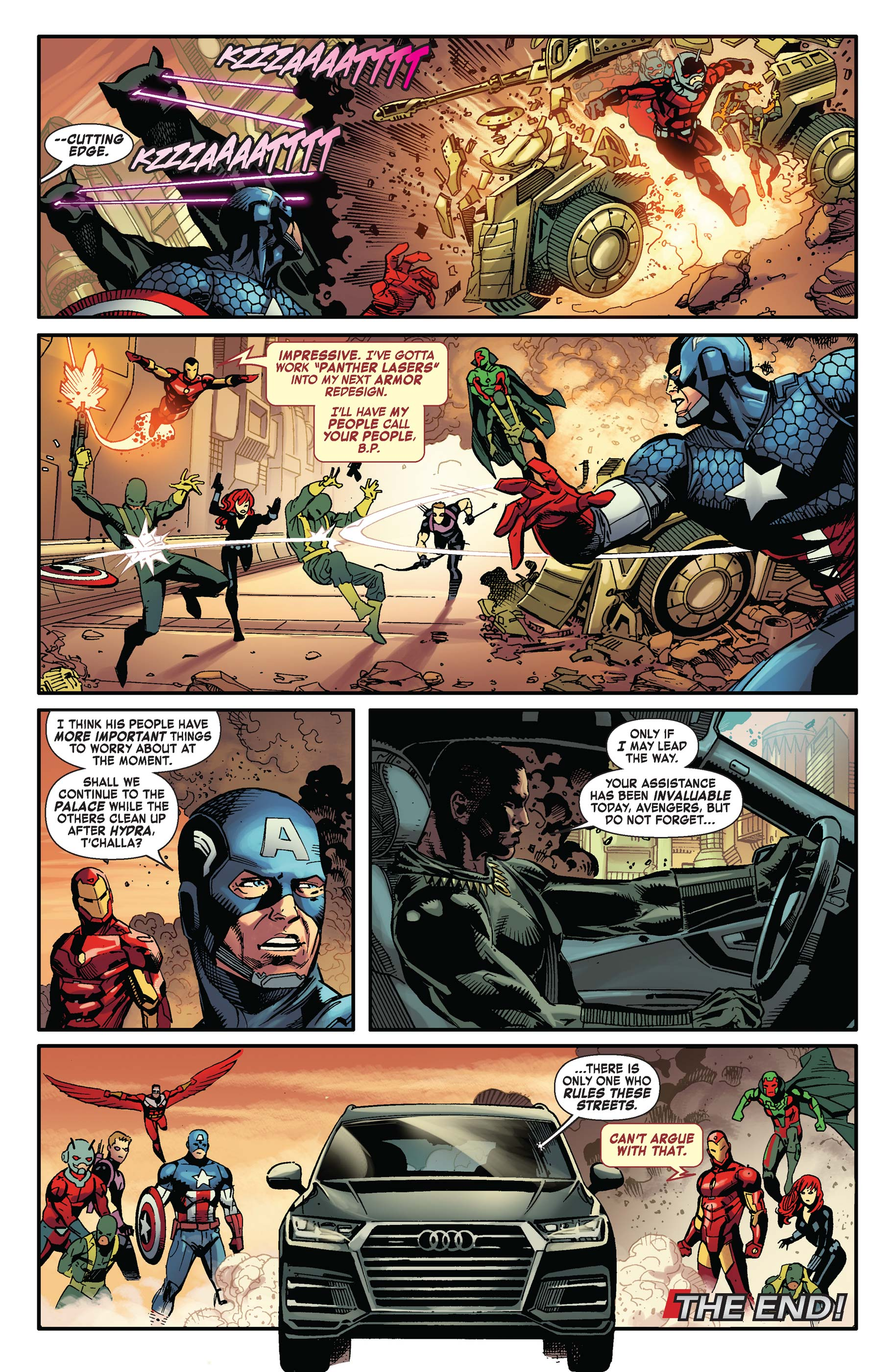 Read online Avengers: King of the Road comic -  Issue # Full - 7