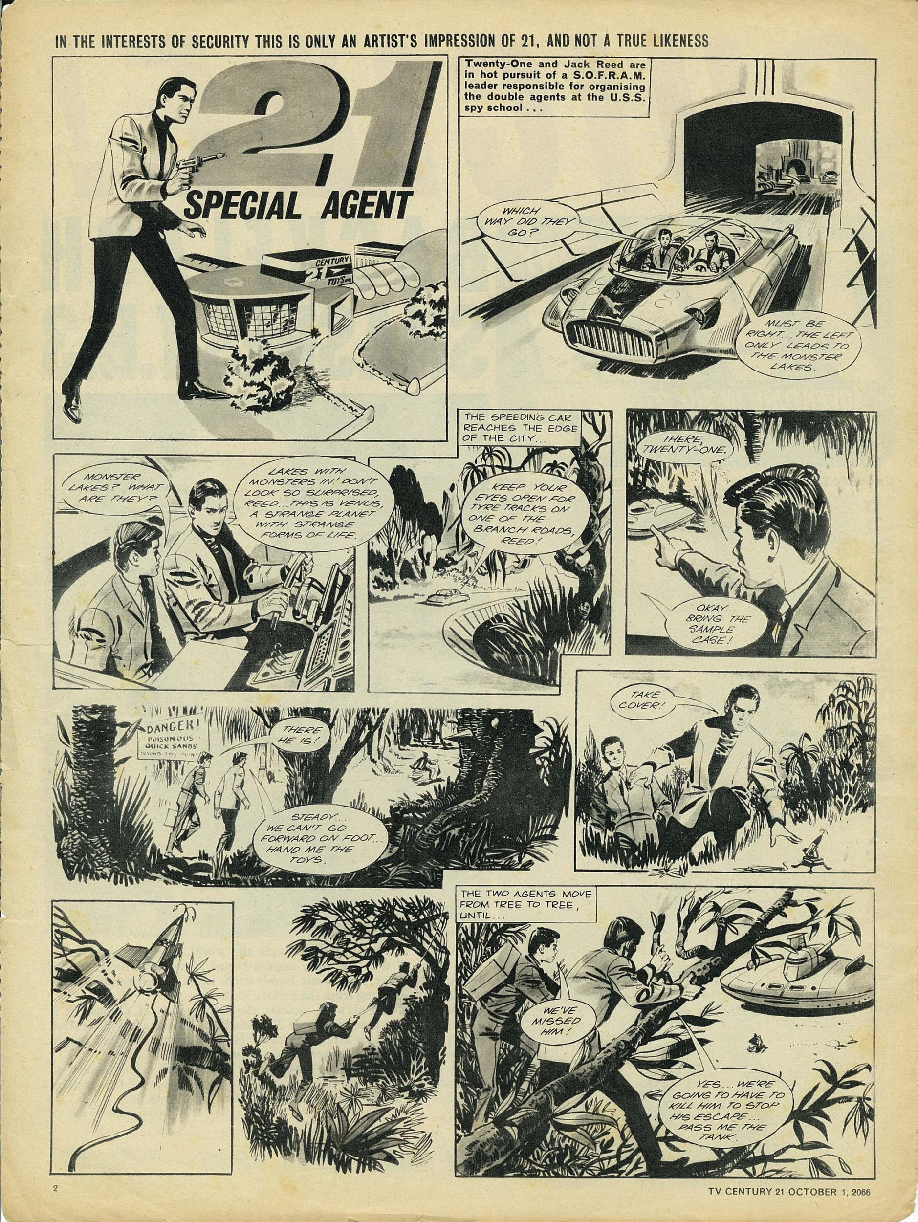 Read online TV Century 21 (TV 21) comic -  Issue #89 - 2