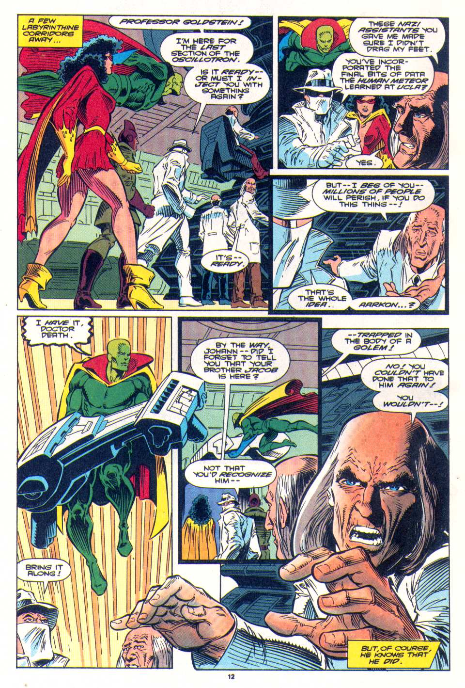 Read online The Invaders (1993) comic -  Issue #4 - 11