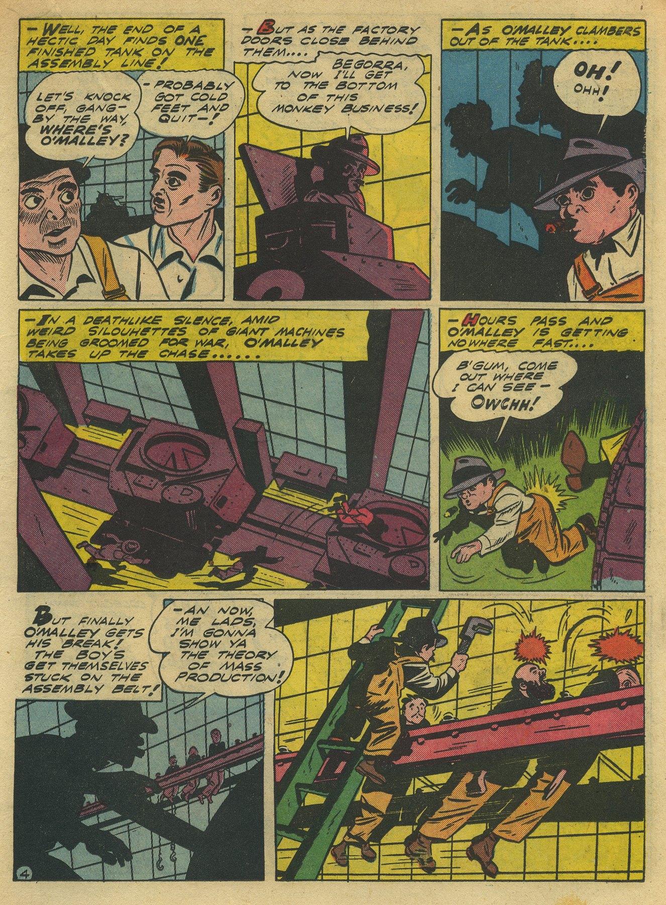 Read online Sensation (Mystery) Comics comic -  Issue #10 - 35