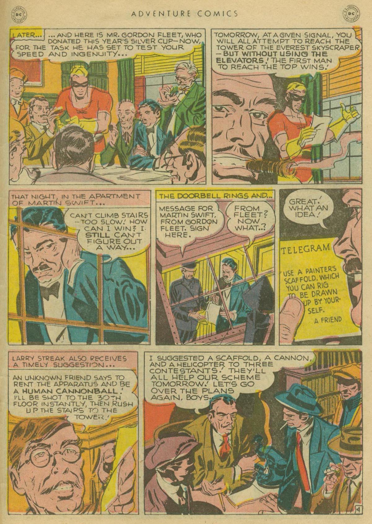Read online Adventure Comics (1938) comic -  Issue #130 - 42