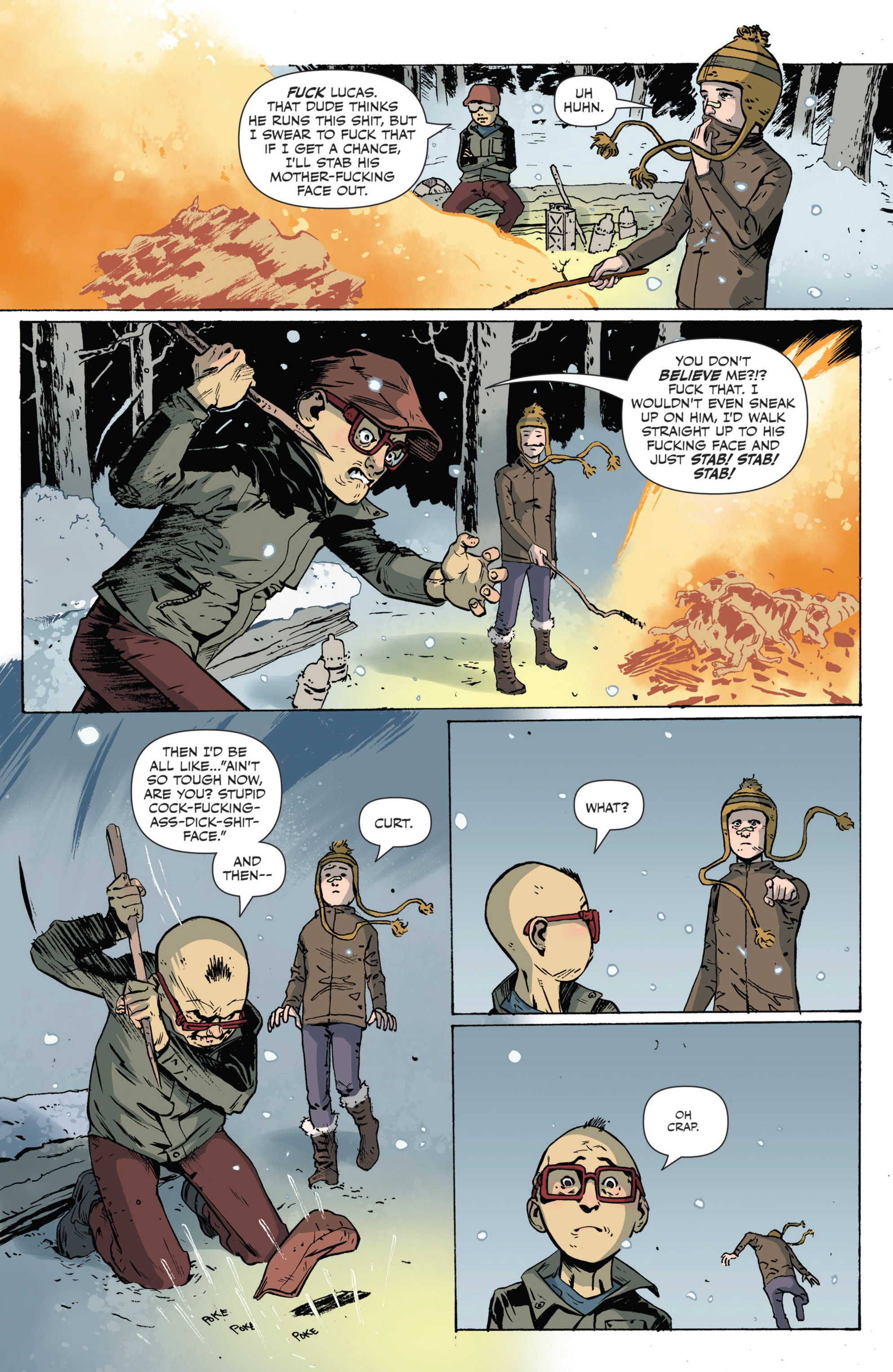 Read online Sheltered comic -  Issue #5 - 14
