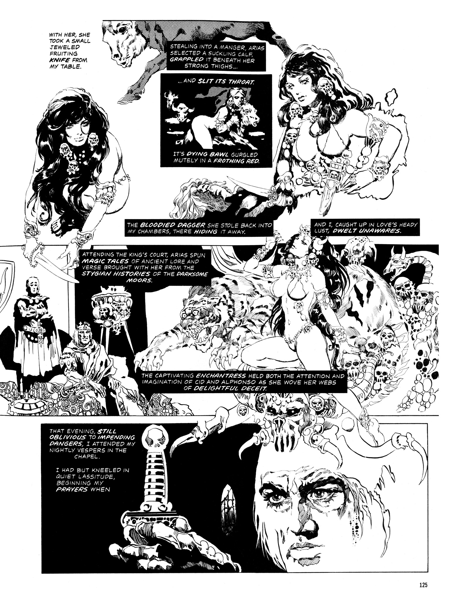 Read online Eerie Archives comic -  Issue # TPB 14 - 126