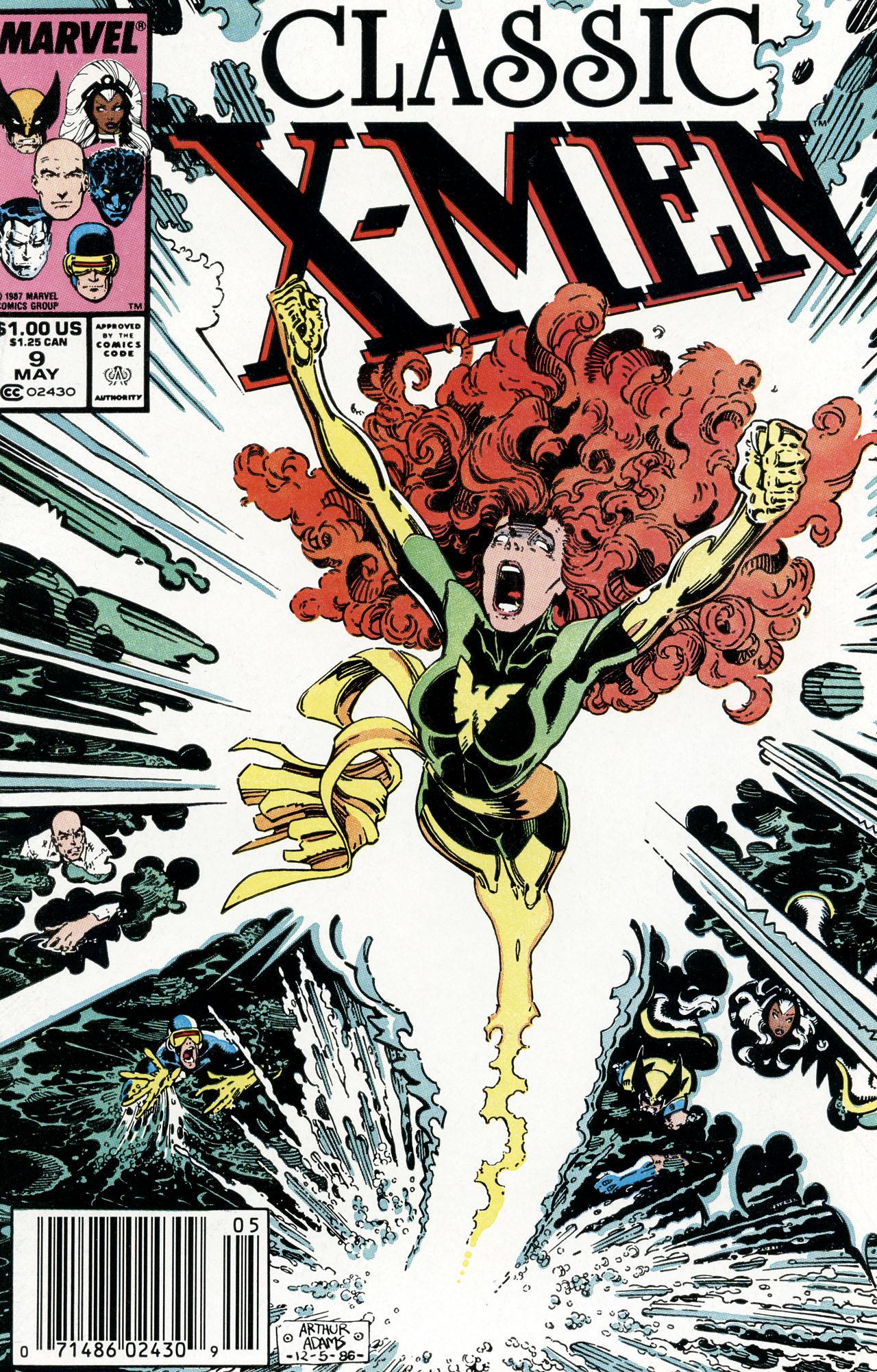 Classic X-Men 9 Page 1