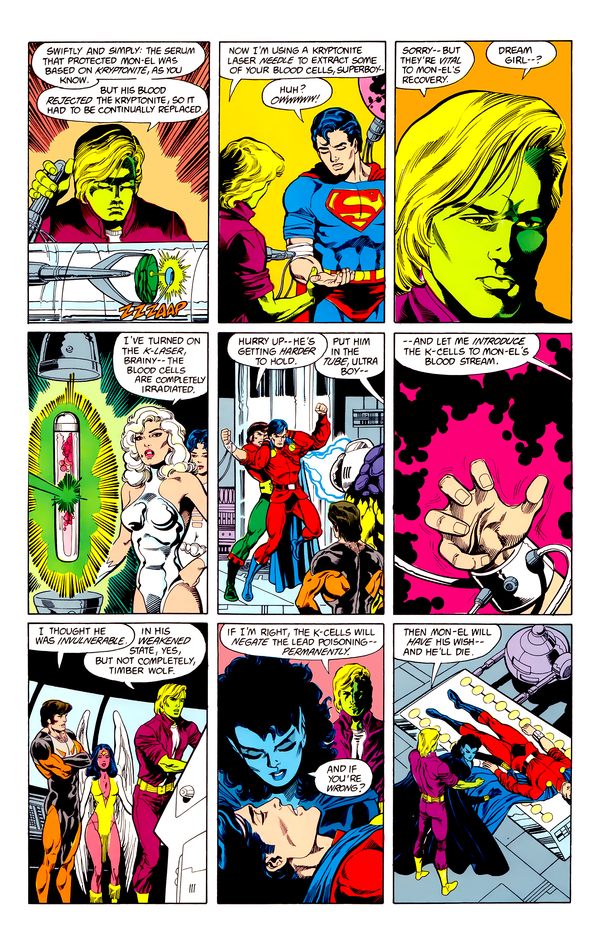 Legion of Super-Heroes (1984) 23 Page 28
