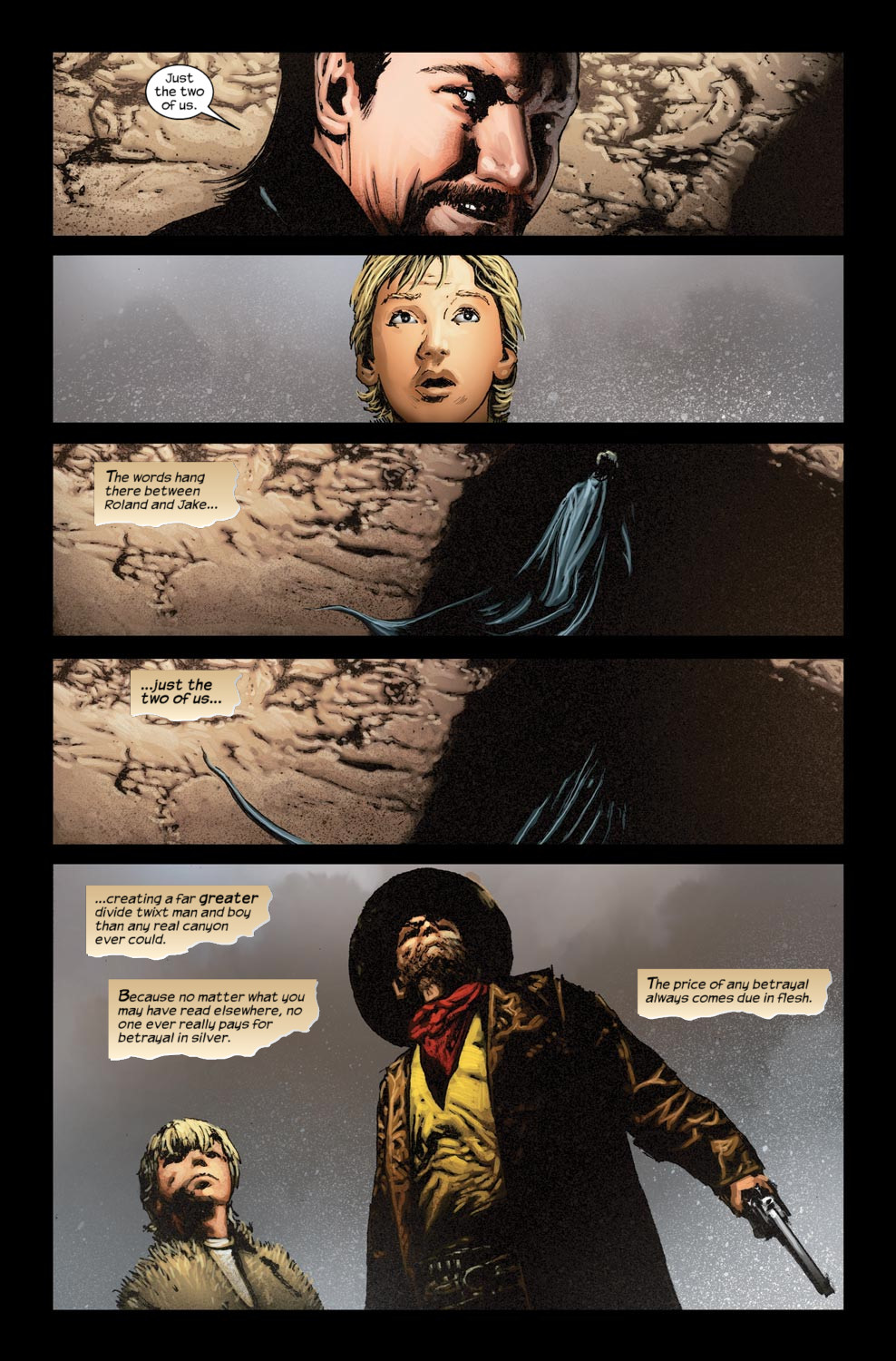 Read online Dark Tower: The Gunslinger - The Way Station comic -  Issue #5 - 23