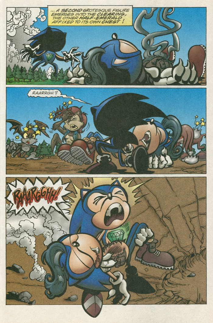 Read online Sonic Super Special comic -  Issue #12 - Sonic and Knuckles visa versa - 38