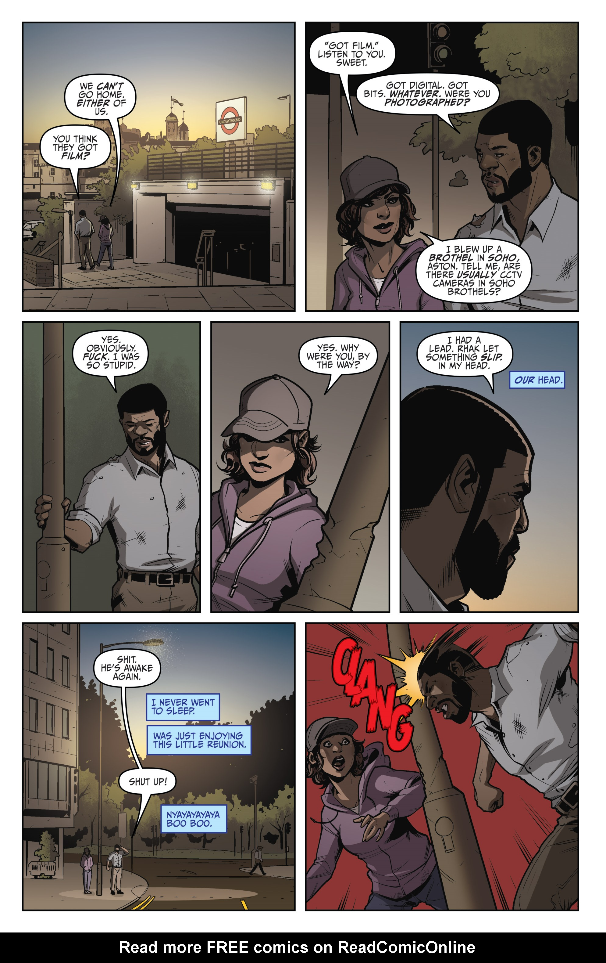 Read online Darkness Visible comic -  Issue #5 - 10