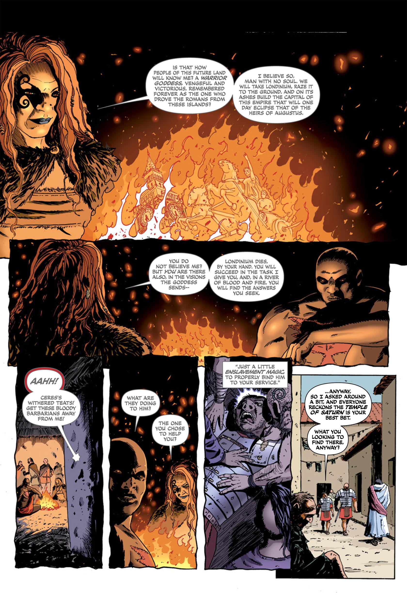 Read online Aquila comic -  Issue #1 - 31