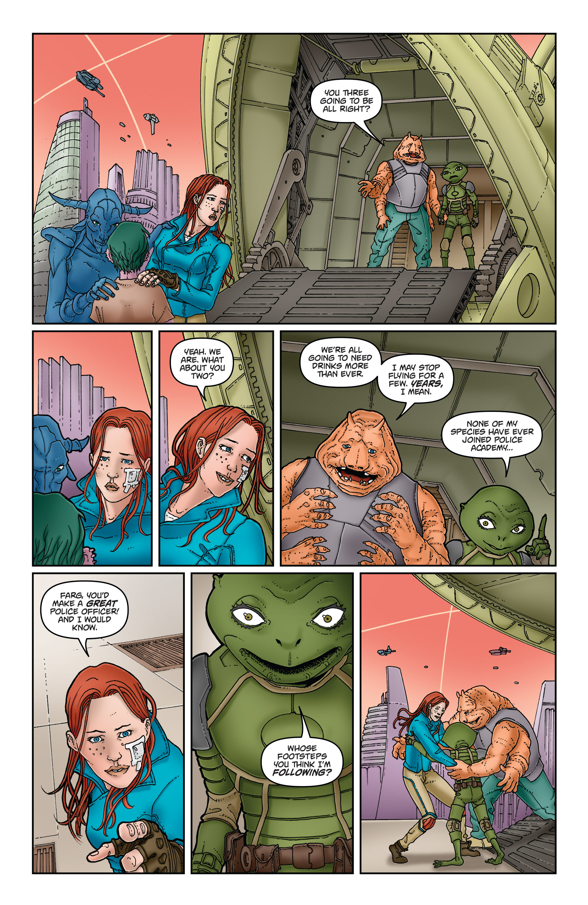 Read online Satellite Falling comic -  Issue #5 - 17