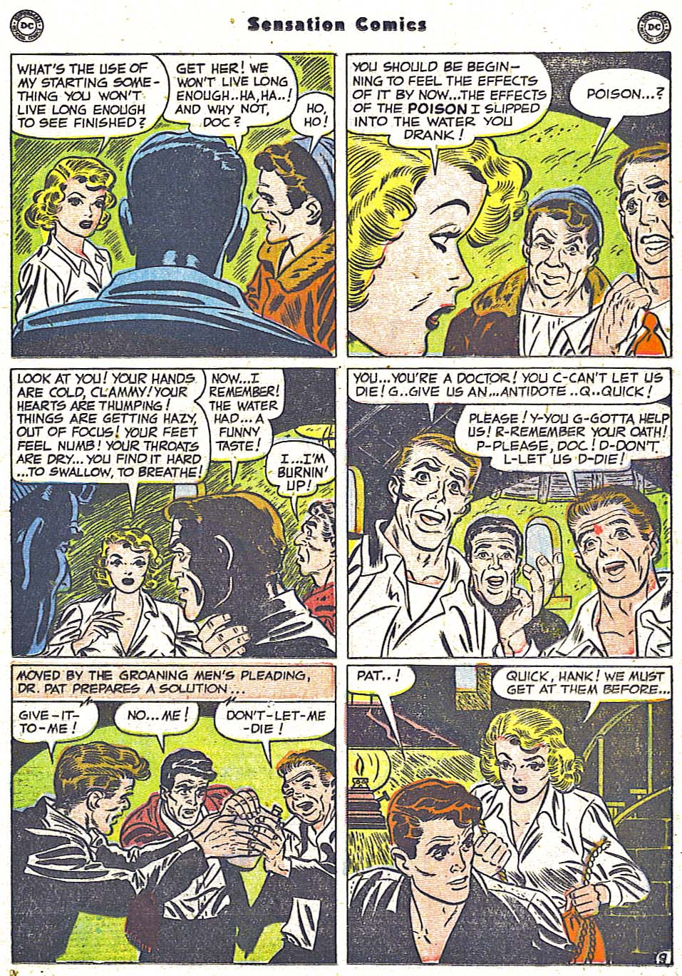 Read online Sensation (Mystery) Comics comic -  Issue #96 - 25