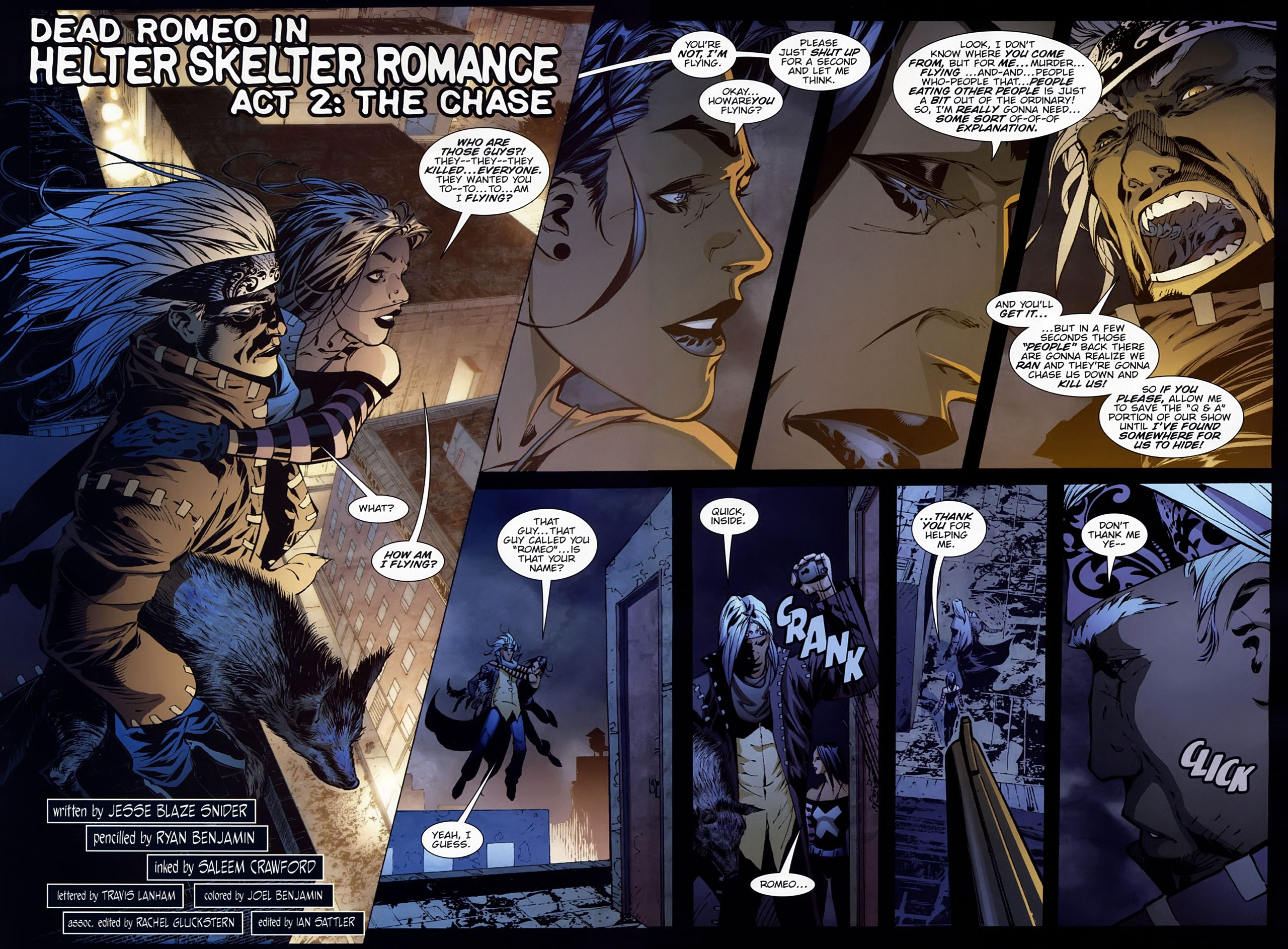 Read online Dead Romeo comic -  Issue #2 - 5