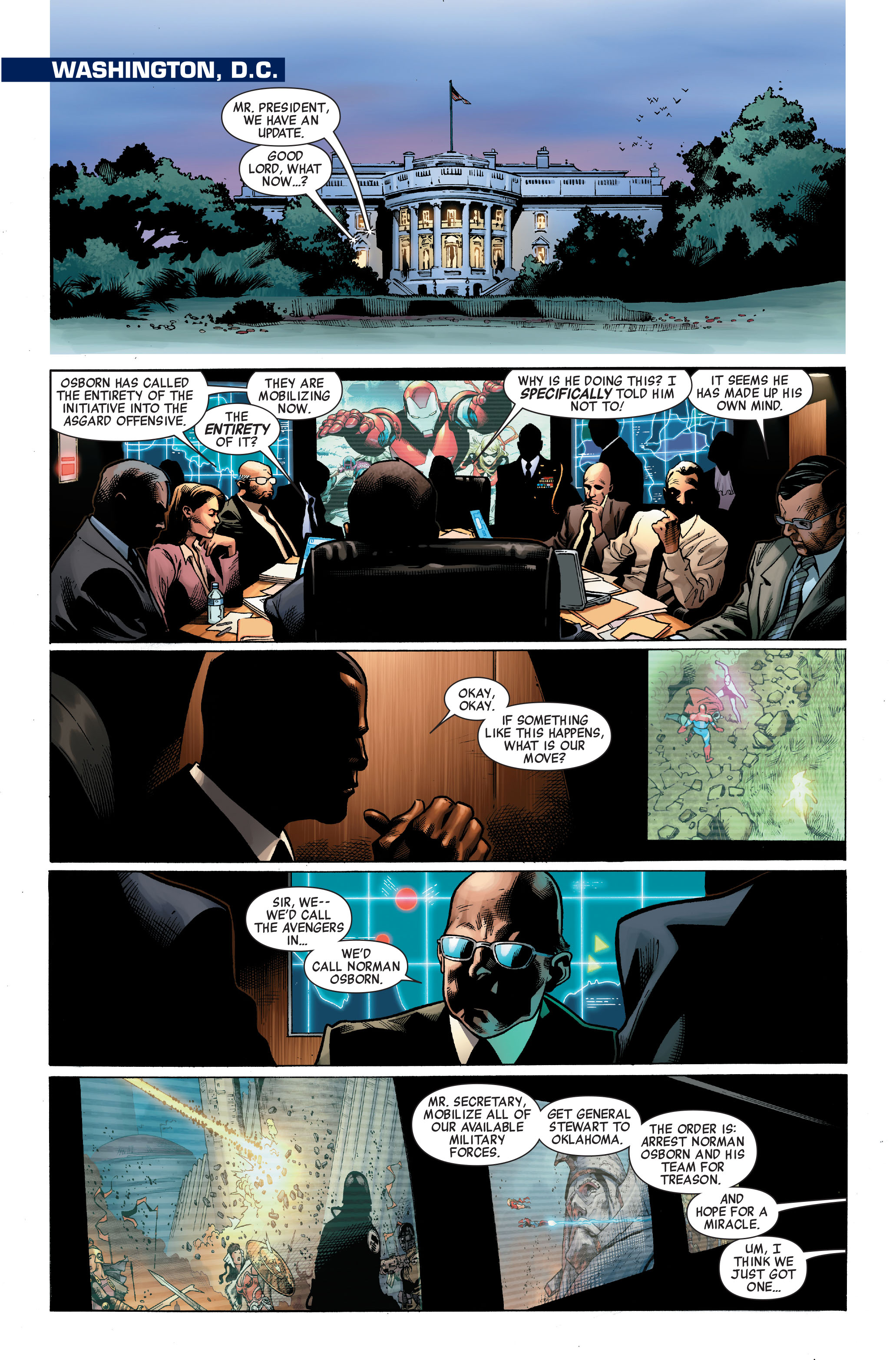 Read online Siege (2010) comic -  Issue #3 - 3