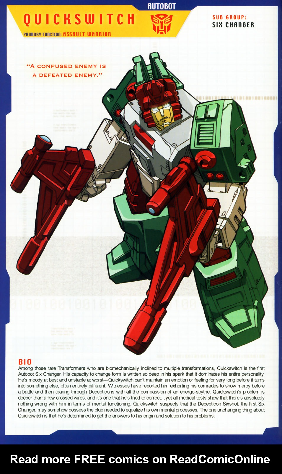 Read online Transformers: More than Meets the Eye comic -  Issue #5 - 14