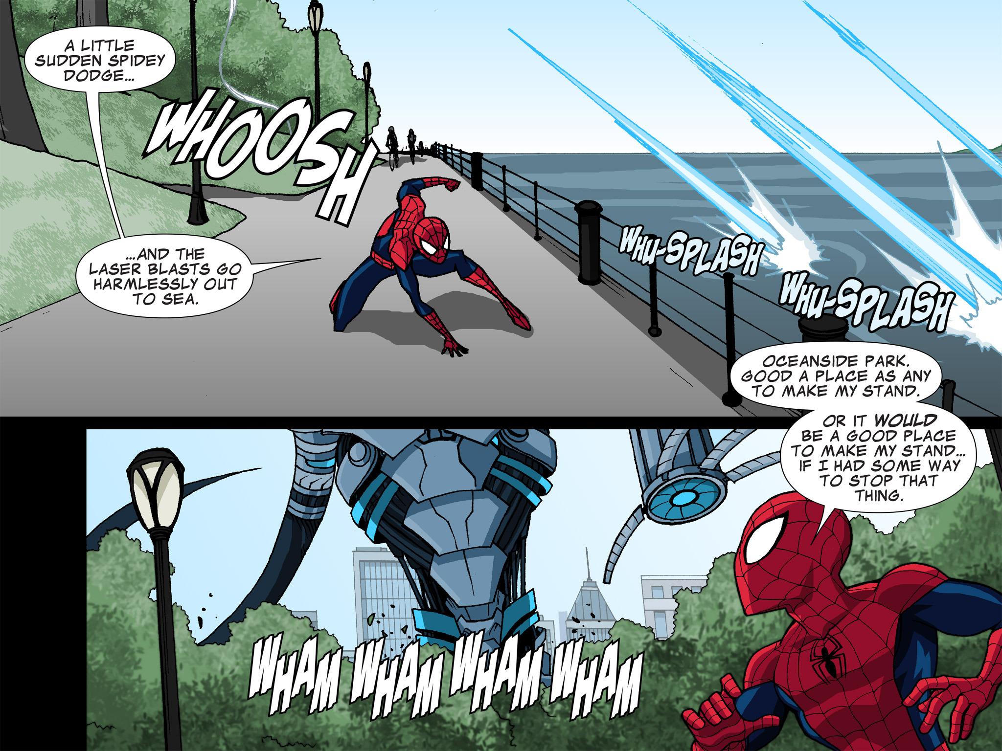 Read online Ultimate Spider-Man (Infinite Comics) (2015) comic -  Issue #6 - 28