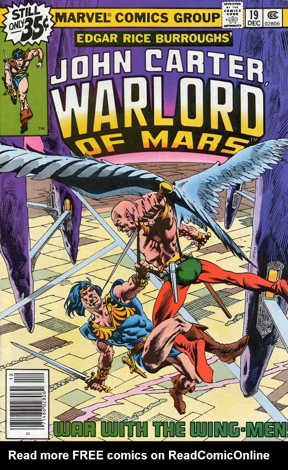 John Carter Warlord of Mars issue 19 - Page 1