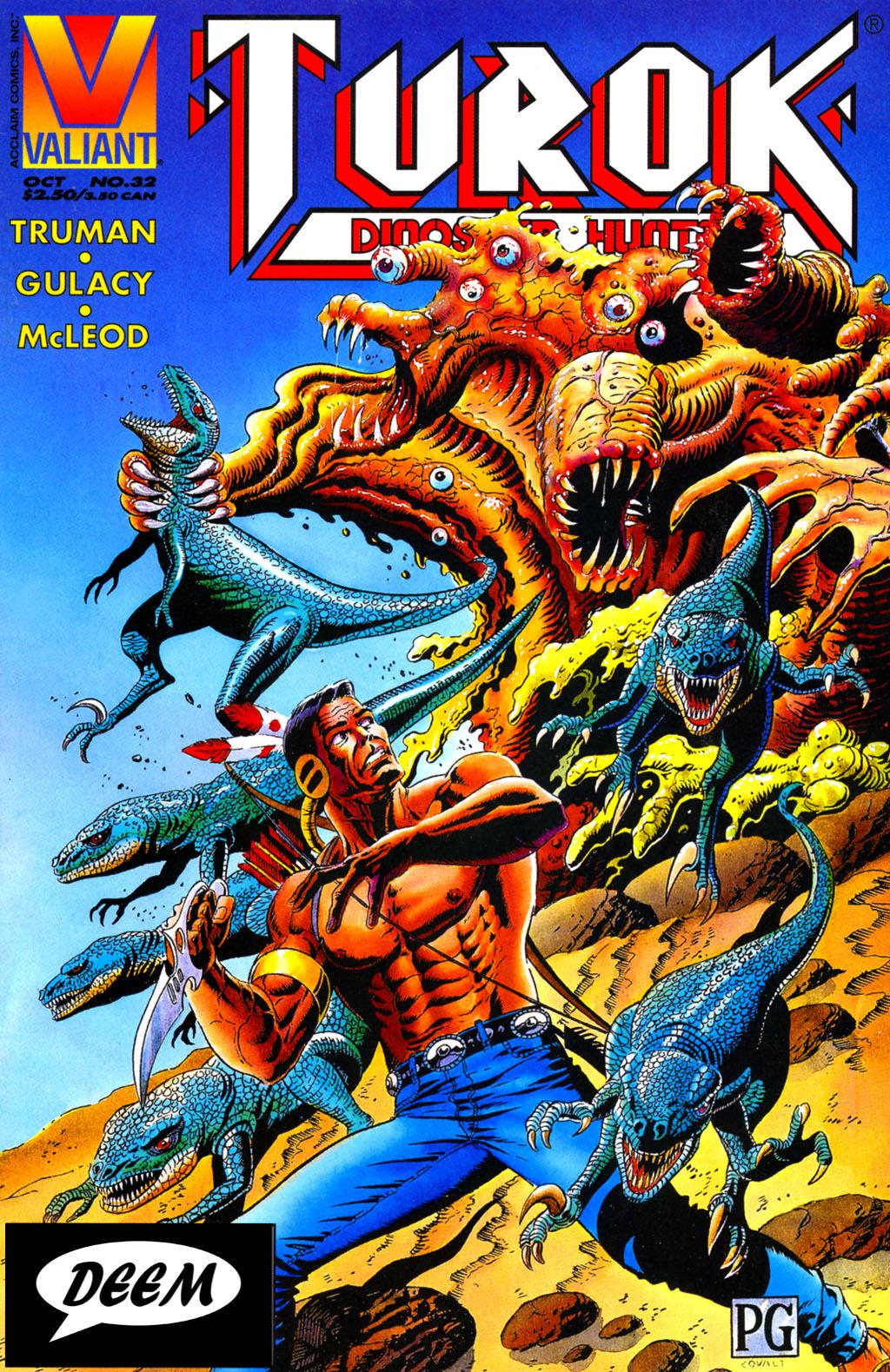Read online Turok, Dinosaur Hunter (1993) comic -  Issue #32 - 1