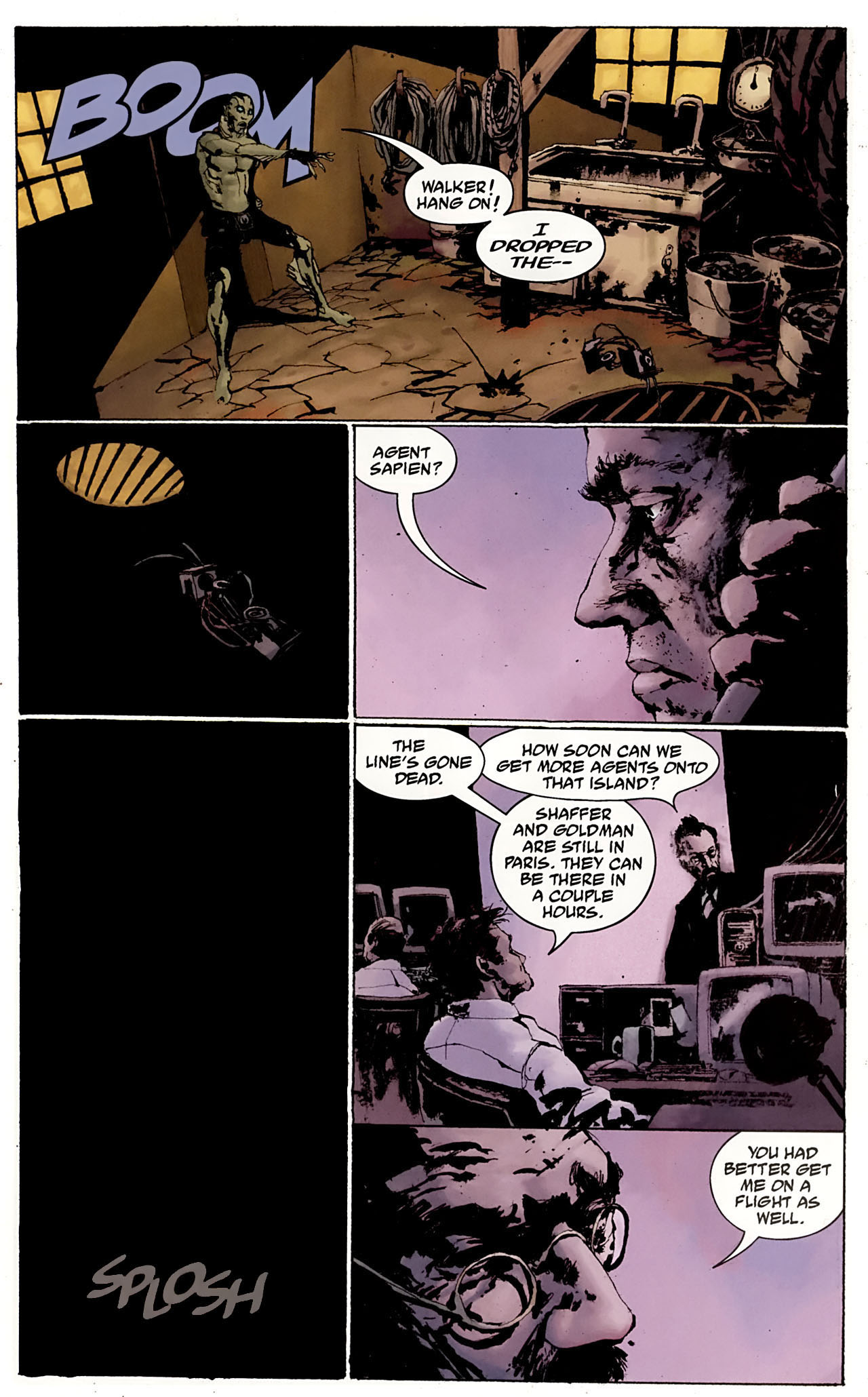 Read online Abe Sapien: The Drowning comic -  Issue #3 - 18