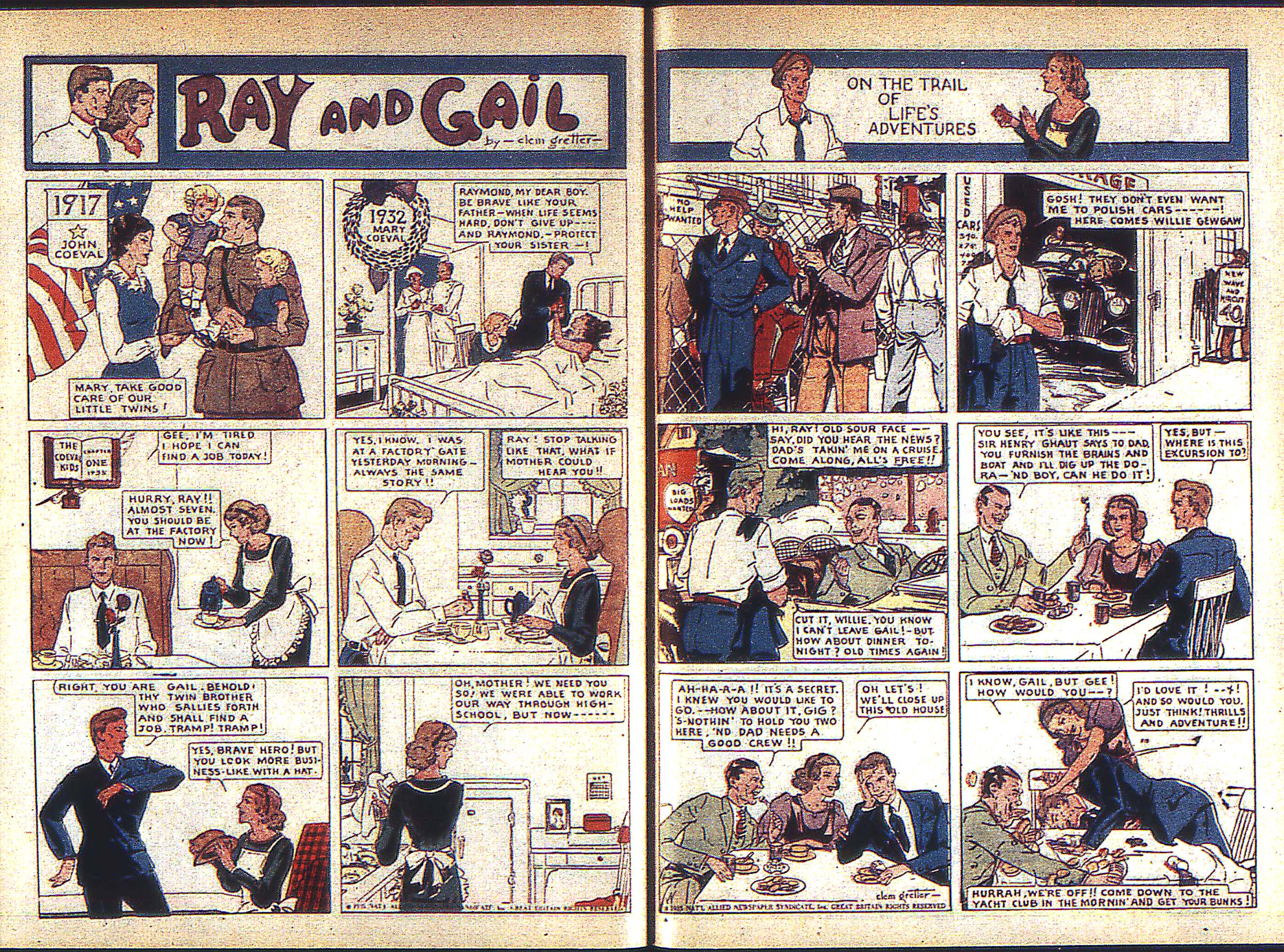 Read online Adventure Comics (1938) comic -  Issue #1 - 36