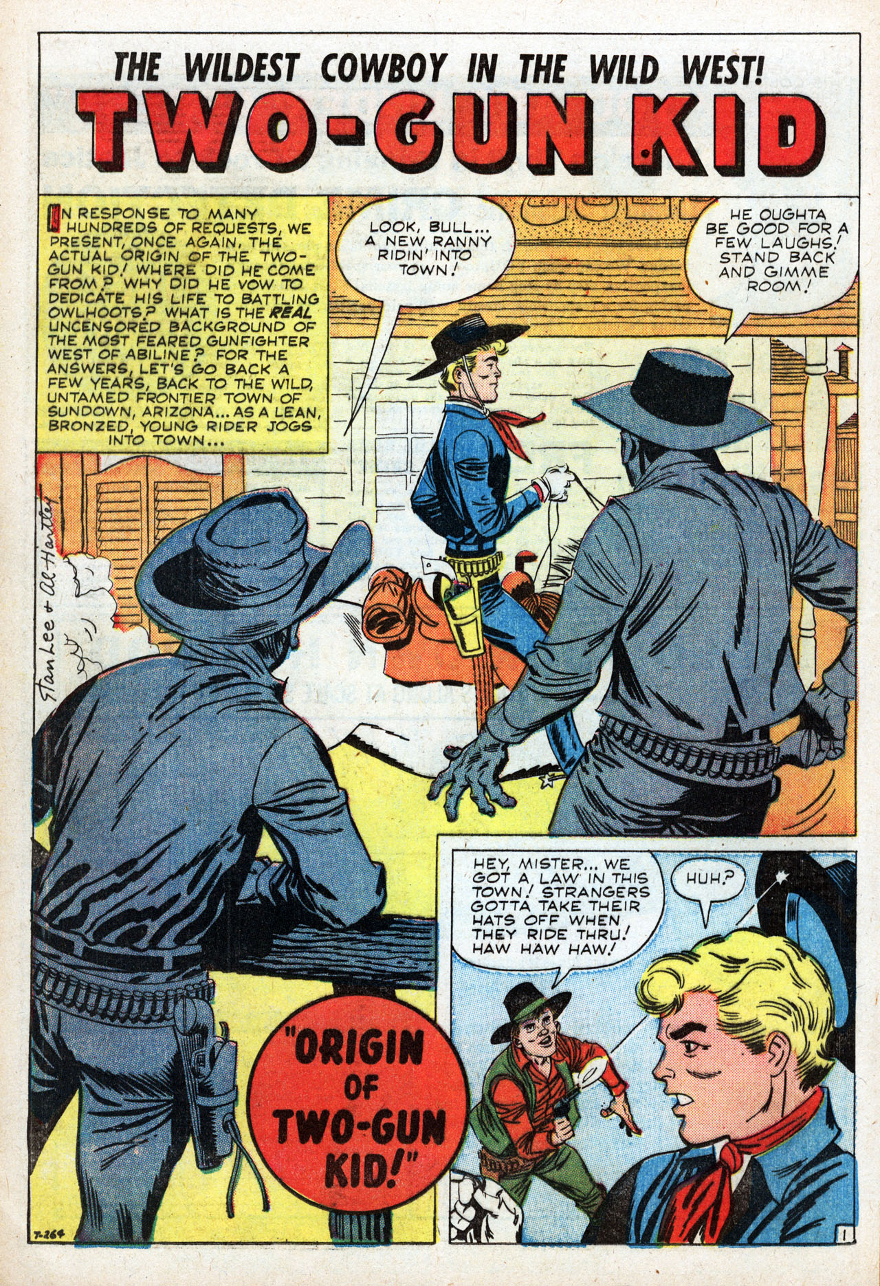 Read online Two-Gun Kid comic -  Issue #48 - 16