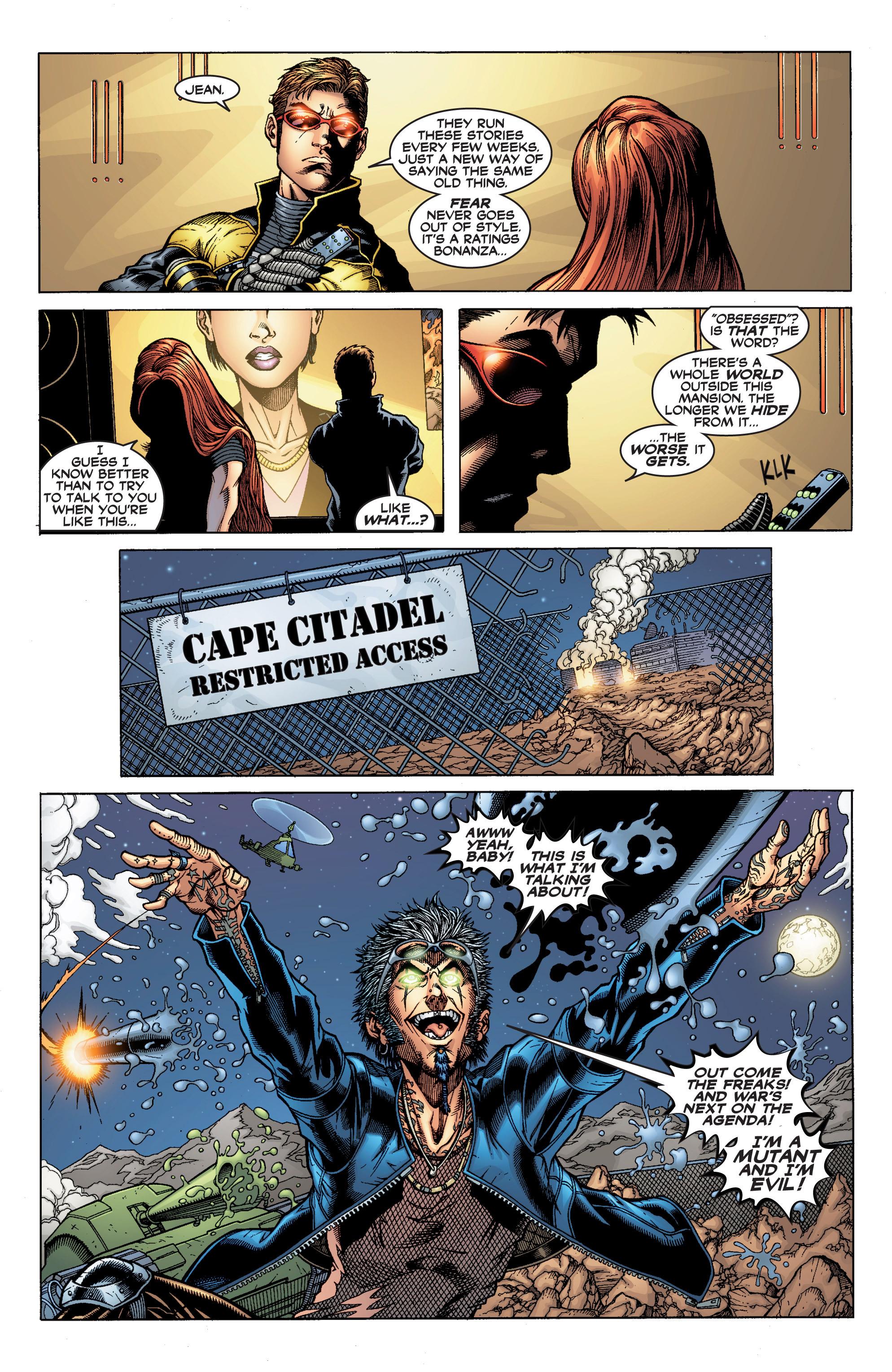 Read online Uncanny X-Men (1963) comic -  Issue #394 - 6