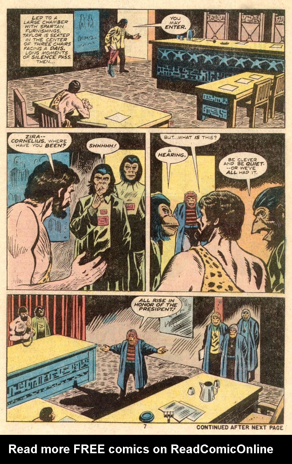 Read online Adventures on the Planet of the Apes comic -  Issue #4 - 6