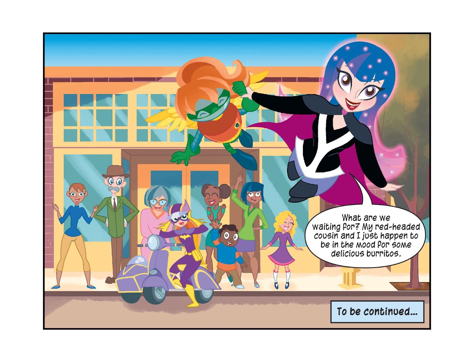 Read online DC Super Hero Girls: Weird Science comic -  Issue #10 - 23