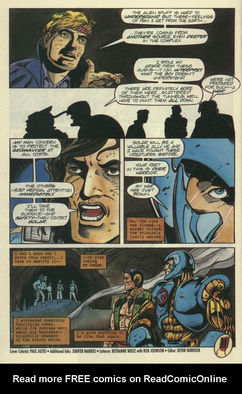 Read online Secret Weapons comic -  Issue #7 - 21