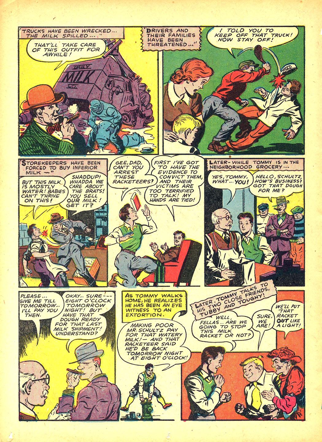 Read online Sensation (Mystery) Comics comic -  Issue #5 - 50