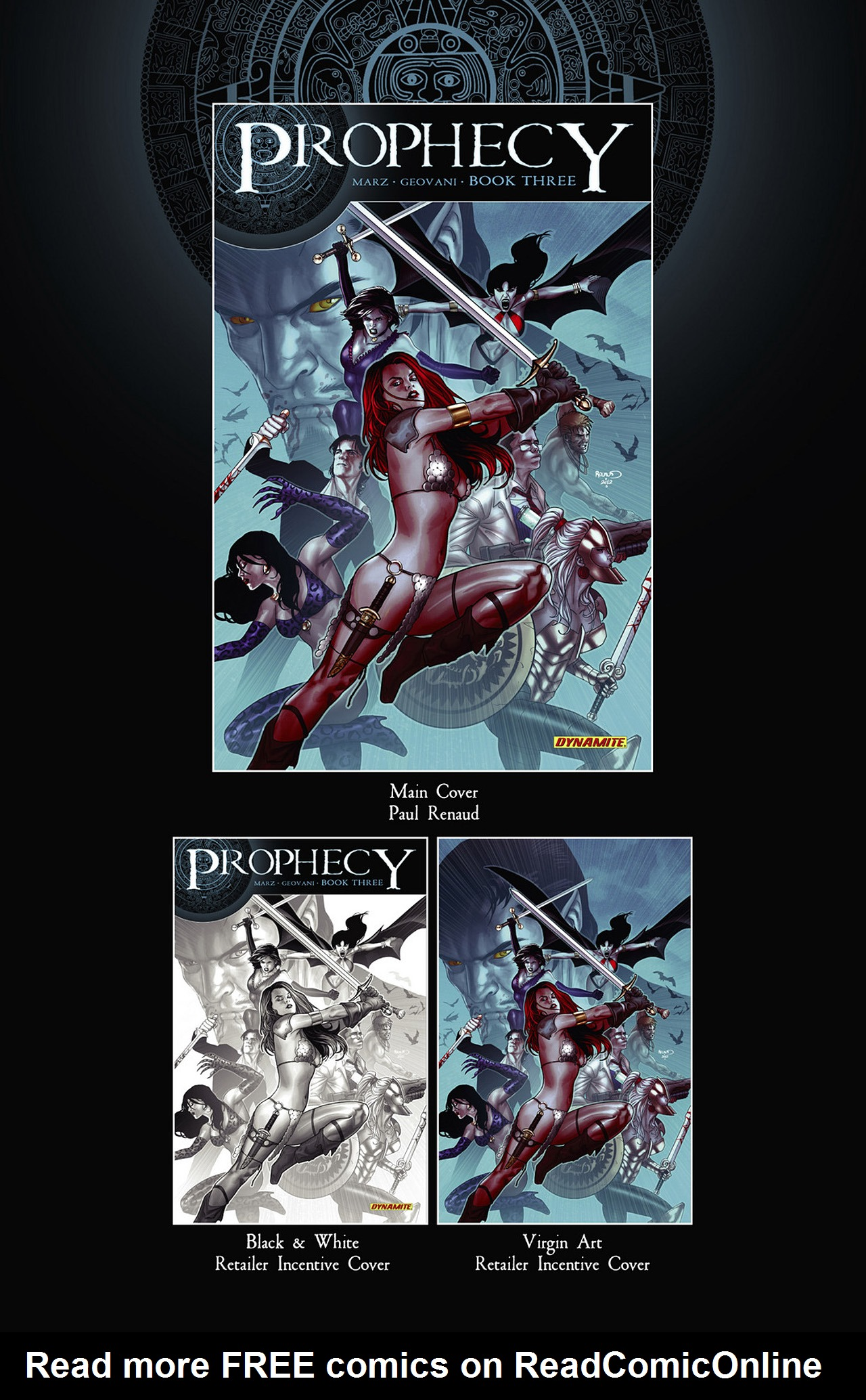 Read online Prophecy comic -  Issue #3 - 2